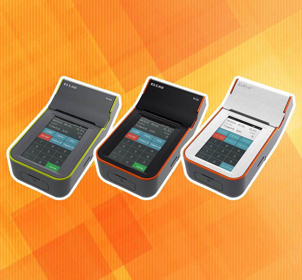 Kasa fiskalna Elzab K10 w 3 wersjach kolorystycznych