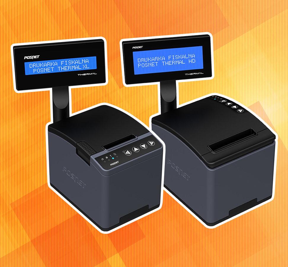 Drukarki fiskalne Posnet Thermal XL i Posnet Thermal HD