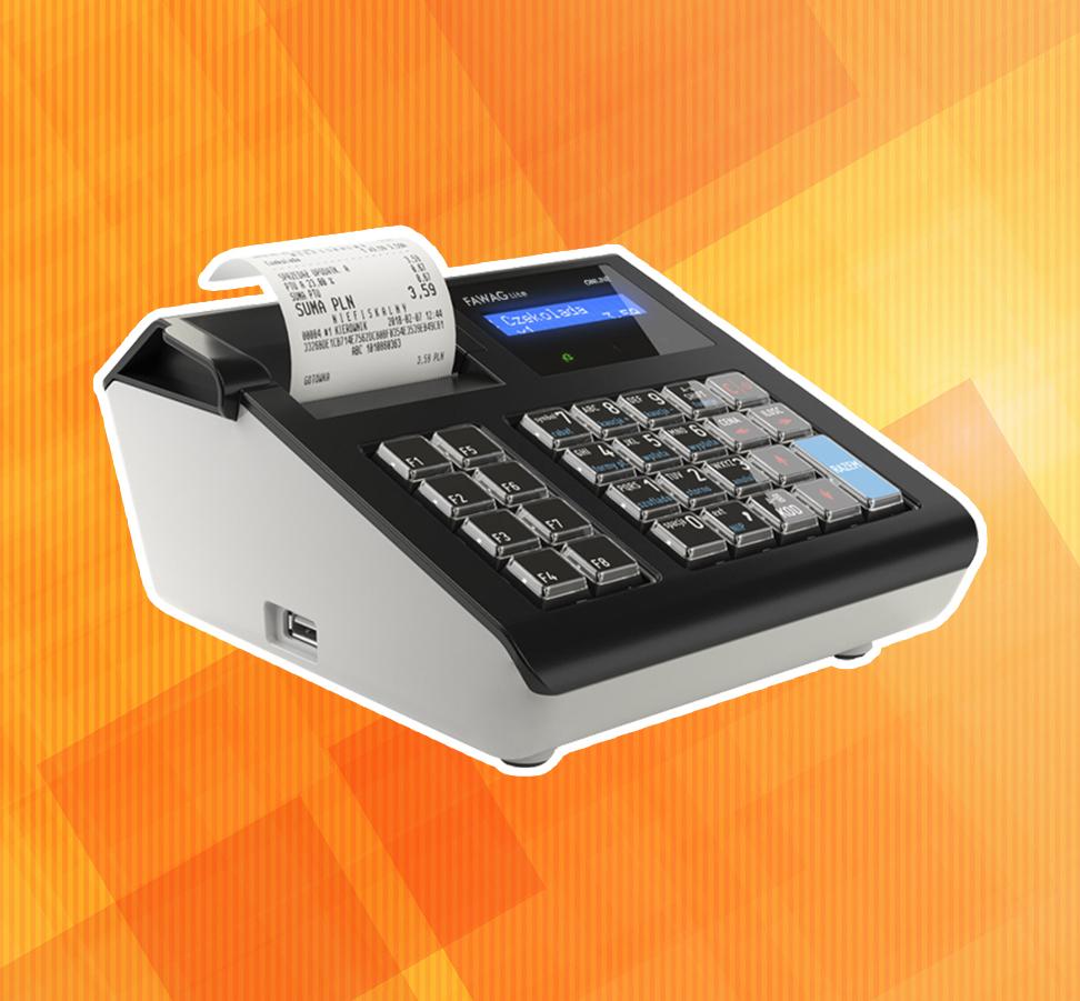 Fawag Lite Online - kompaktowa kasa fiskalna